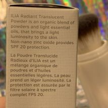 NEW IN BOX ILIA Radiant Translucent Powder SPF 20 MOON DANCE image 3