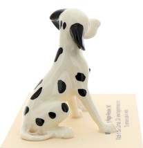 Hagen-Renaker Miniature Ceramic Dog Figurine Dalmatian Sitting with Pup image 2