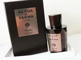 Acqua Di Parma Colonia Ambra Cologne For Men 3.4oz Perfume 3.3oz New in Box - $199.99