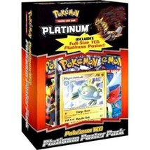 Pokemon Platinum Poster Pack Magnezone Promo Card & Booster Packs Sealed... - $37.95