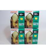 8 PACK Yellow Bug Light Bulb 60W Watt Sylvania Outdoor Porch Non-attract... - $17.95