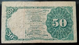 50 CENT US Fractional Currency (Green Seal) 4th Issue SAMUEL DEXTER-VERY... - $58.00
