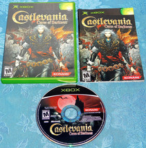 Castlevania Curse of Darkness Microsoft Xbox SYSTEM GAME Complete IN CAS... - $12.91