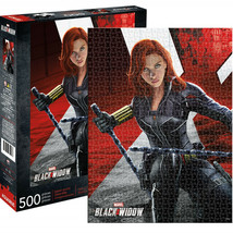 Black Widow Marvel 500 Piece Puzzle Multi-Color - $25.98