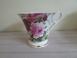 Royale Garden Staffordshire England Bone China Short Footed Teacup New - $14.80