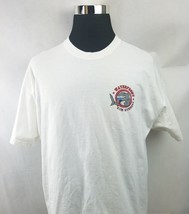 """The Waterfront Bay Deck Somers Point, NJ """"Rum Runners"""" White T-Shirt Size: XL - $12.58"""