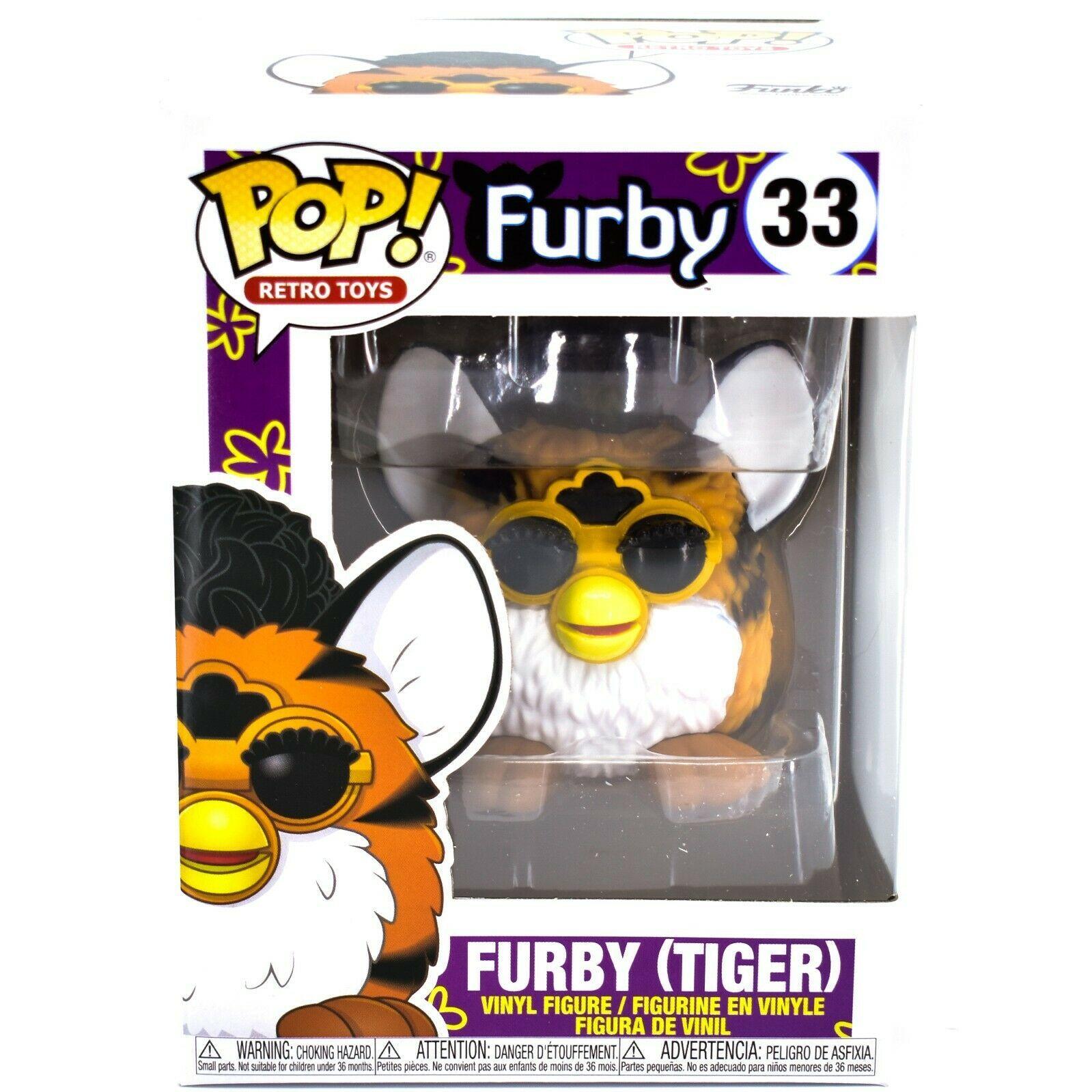 Funko Pop! Retro Toys Tiger Furby #33 Vinyl Action Figure