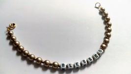 Blessed Bracelet in Pink - $7.00