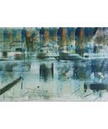 Signed Sailboat Lithographs Alfred Birdsey Cape Cod Bermuda Impressionist - $1,473.99