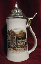 "MCCOY  LIDDED STEIN 6020 ""Old Coach House Strat... - $19.24"