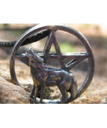 Haunted Lycan Werewolf Pendant of rare supernatural powers of the full moon - $77.77