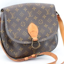 LOUIS VUITTON Monogram Saint Cloud GM Shoulder Bag M51242 LV Auth sa1888 - $450.00