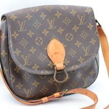 LOUIS VUITTON Monogram Saint Cloud GM Shoulder Bag M51242 LV Auth sa1888 - $450.00