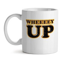 Wheeeeyy - Mad Over Mugs - Inspirational Unique Popular Office Tea Coffee Mug Gi - $20.53
