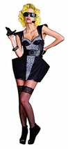 New Dreamgirl Women's Sexy Super Star Music 2 Go Halloween Costume 8240 Size M
