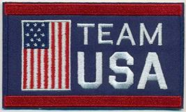 """Wholesale Lot of 6 Team USA Embroidered Iron-On Patch Size 4"""" x 2 1/2"""". ... - $24.70"""