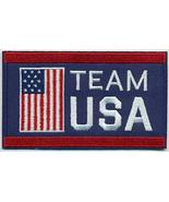 "Wholesale Lot of 6 Team USA Embroidered Iron-On Patch Size 4"" x 2 1/2"". ... - $24.70"