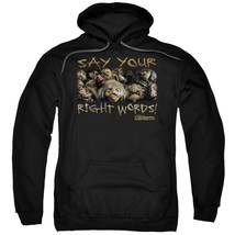 Labyrinth - Say Your Right Words Adult Pull Over Hoodie Officially Licensed Appa - $34.99+
