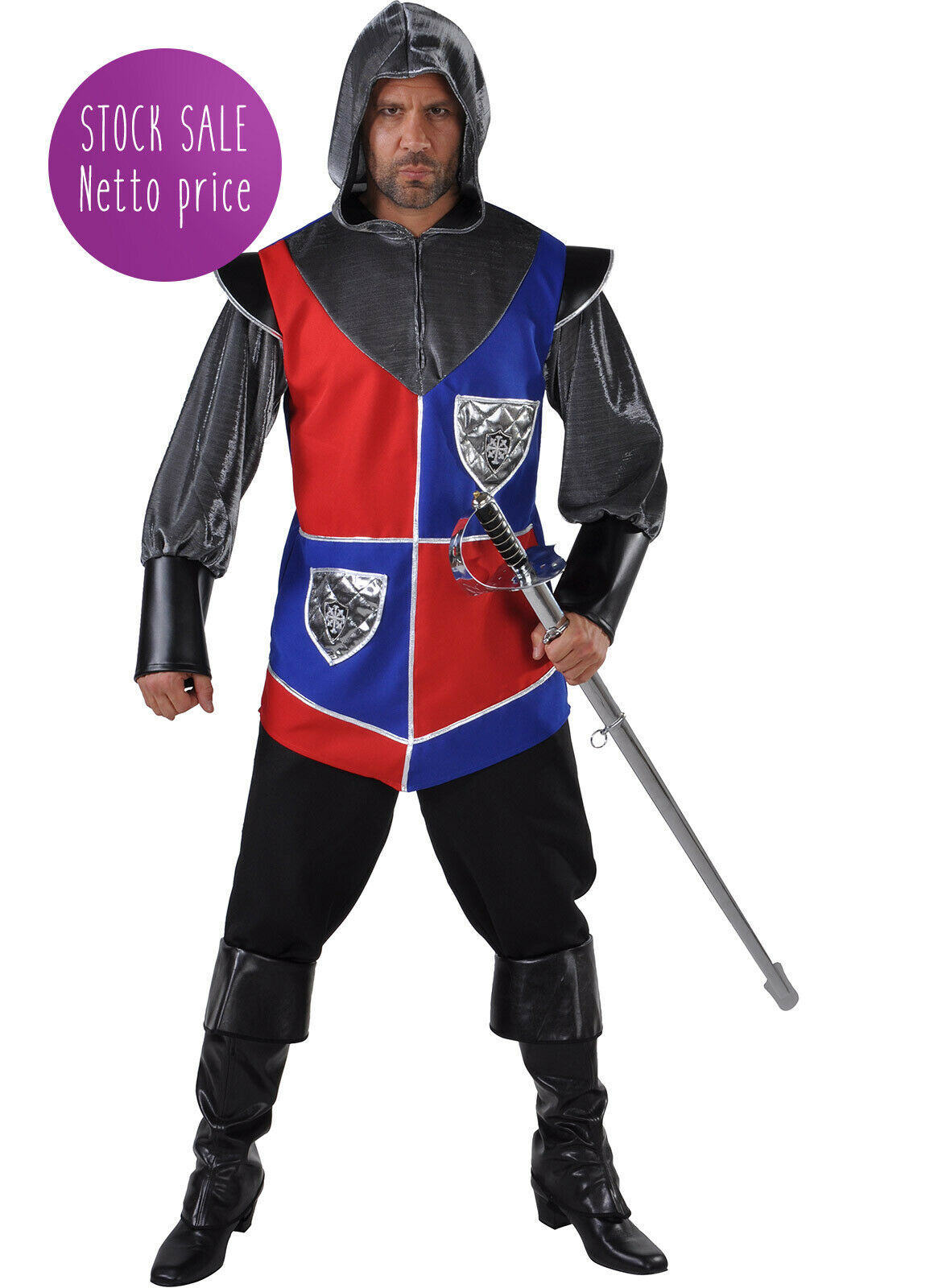 Medieval Knight Costume - Small