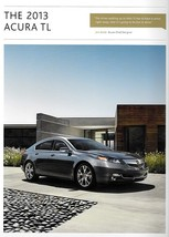2013 Acura TL sales brochure catalog US 13 SH-AWD Honda - $8.00