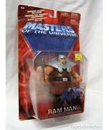 Masters of the Universe Ram Man Figure - Bronze Variant MOTU Red Card - $40.10