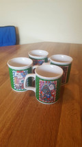 Chris Davenport Enesco Christsmas Mugs complete set of 4 still in the bo... - $14.95