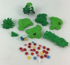 Playmobil Foliage Leaves Flowers Plants Forest Building Replacement Lot ... - $22.23