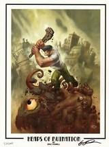Eric Powell The Goon Signed #Ed Le Dark Horse Comic Art Print Heaps Of Ruination - $34.64