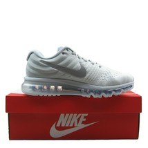 Nike Air Max 2017 Womens Running Shoes Size 10 Pure Platinum White 84956... - $123.70