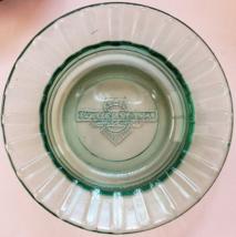 "BOULDER STATION Las Vegas Hotel Glass Green Casino Ashtray 4-1/2"" x 1"" - $12.95"