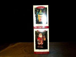 Hallmark Keepsake Ornaments Bright Shining Castle Crayola & Merry Olde Santa AA image 6