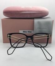New MIU MIU Eyeglasses VMU 50Q VYI-1O1 52-22 140 Red Gold White Cat Eye ... - $499.98