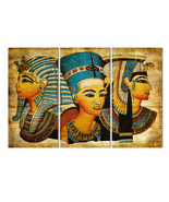 Ancient Pharaohs Of Egypt 3 Panel Set On Canvas N0. AP000 - $44.79+