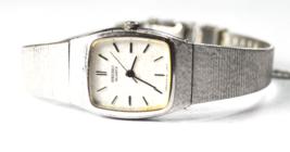 Women's Seiko Quartz Wristwatch 18mm 2C21-5009 Mesh Band - $19.79