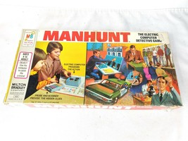 Manhunt Electric Computer Detective Game missing Computer - $22.50