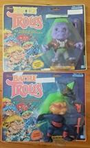 2 Original Battle Trolls Figures - Nunchuk & Franken Troll -1992 - $39.60