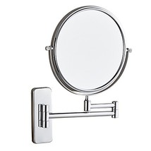 GURUN Wall Mount Makeup Mirror with 5X Magnification 8-Inch Double Sided... - $42.01