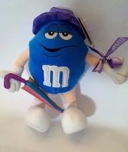"Blue Peanut M&M Soft Plush Stuffed Doll Toy - Easter Spring Themed 9"" 23... - $14.84"