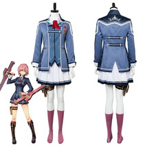 The Legend of Heroes: Trails of Cold Steel Una Crawford Cosplay Costume Uniform - $96.85+