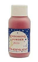 Inkadinkado Embossing Powder, Red