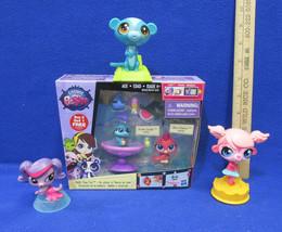 New Littlest Pet Shop Toys Bath Time Fun Vivian & Shura 3 McDonalds Meal Toys  - $11.28