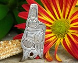 Native american haida flying eagle pendant david kenneth quist silver thumb155 crop