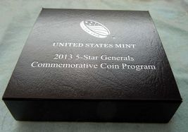 2013 P 5-Star Generals Commemorative Coin Program Proof Silver Dollar LIMITED image 4