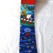 Hallmark Holiday Traditions by MMG Christmas Tie Santa and Reindeer Fish... - $19.76