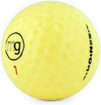 28 Mint YELLOW MG Golf Balls - FREE SHIPPING (3 pink) - $39.59