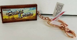 Disney Parks Exclusive Cars Land Welcome To Cars Land Keychain New - $18.59