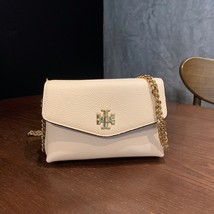 Authentic Tory Burch KIRA MIXED-MATERIALS MINI BAG New Cream (White) - $278.00