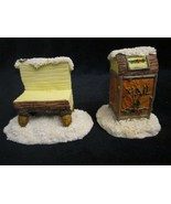 MAIL BOX & BENCH ACCESSORIES Charming Tails FIGURE Holiday Snow - $7.99