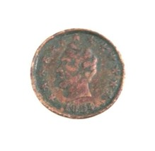 1864 Civil War Patriotic Token Abraham Lincoln Stars OK Chain Links F-12... - $103.95