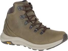 Merrell Ontario Mid Hiker Boot (Men's) in Olive Full Grain Leather - NEW - $170.05